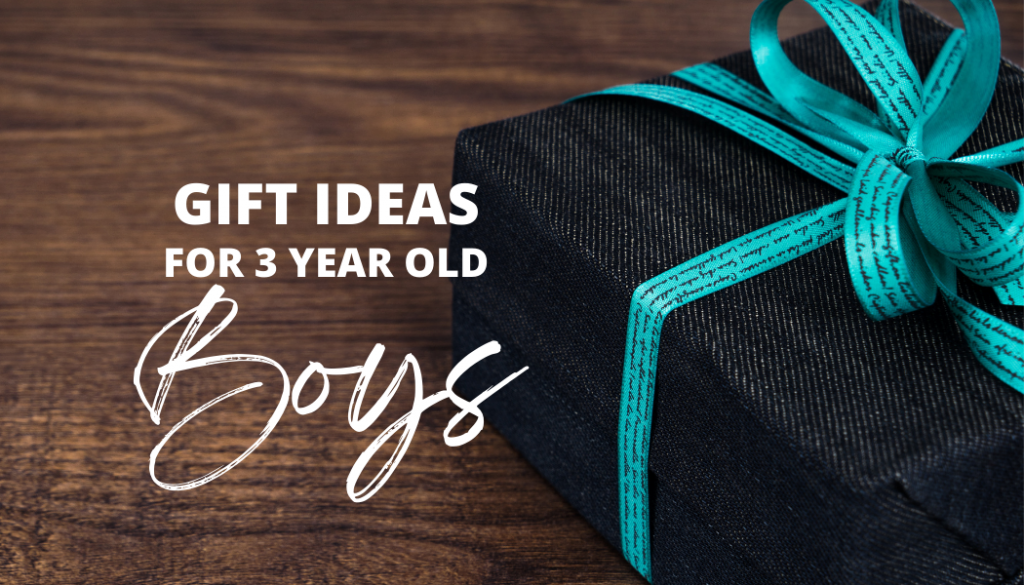 Gift Ideas for Smart, Fun-Loving and Curious 3 Year Old Boys